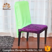 New fashion wedding banquet jacquard chair back cover wholesale