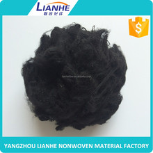 hot sales colour recycled polyester staple fiber for rugs
