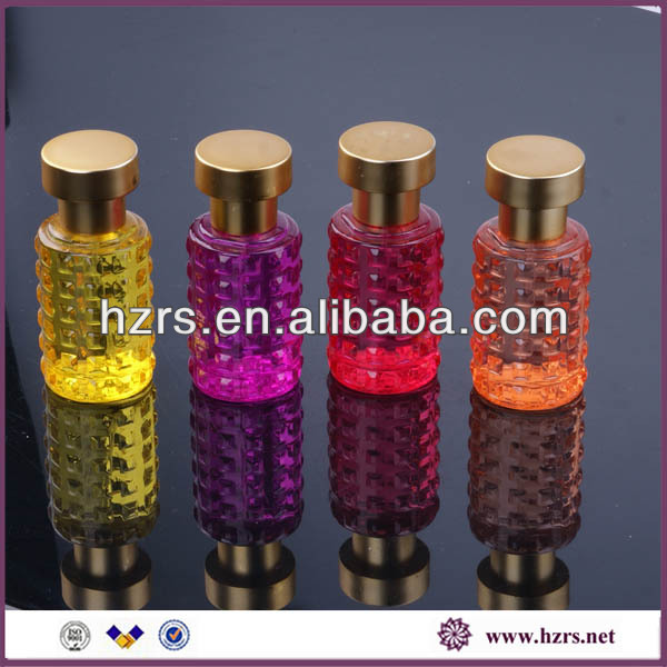 colored animal shape perfume glass bottle