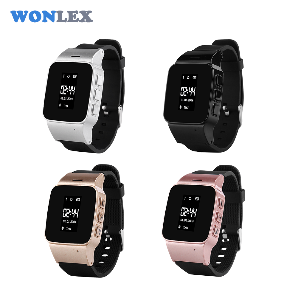 Adult Watch Wonlex EW100 GPS Elderly Watch SOS Two Way Calling GPS Tracker D99 Long Time Standby