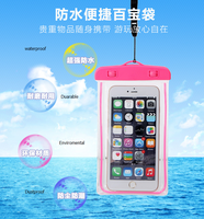 Wholesale waterproof pouch for cell phone, waterproof phone bag, waterproof phone case