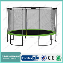 15ft trampoline tent and cheap kids outdoor bungee jumping trampoline can custom made trampolines