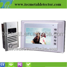 7'' touch key interphone color video door camera with night vision camera TEC703VE11