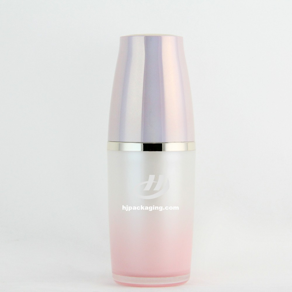 new Korea style serum empty plastic lotion bottle for sale