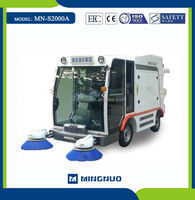 MN-S2000 electric cleaning sweeper truck , power broom battery sweepers ,vacuum sweep machine