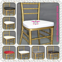 sinofur soft & hard chiavari chair cushions
