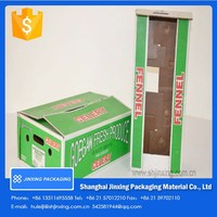wax boxes/waxed cardboard boxes/custom corrugated box for food packaging