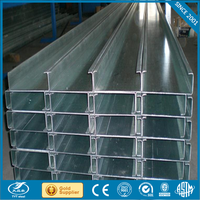 aluminium u profile c beam steel