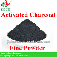 Charcoal powder for producing BBQ charcoal