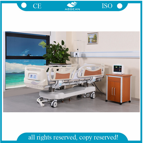 AG-BR002B hospital bed medical equipment nursing care for patient electric adjustable bed mechanism