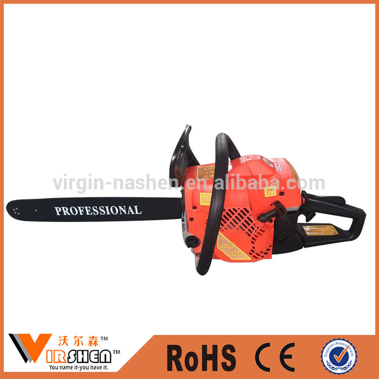 Factory cheap price gasoline chainsaw hot selling in middle east market