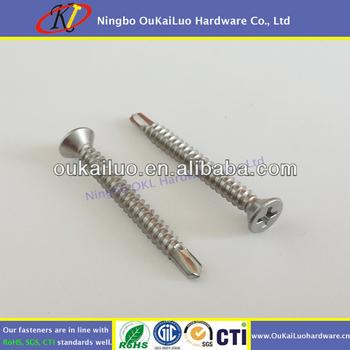 Tornillos autoperforantes para metal