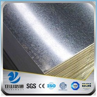 YSW weight of galvanized corrugated iron sheet specification