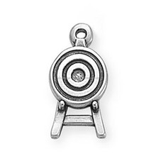 2016 Personalized Custom Metal Target Archery Charm Jewelry Making Accessories Fashion