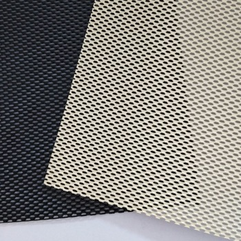 Privacy Mesh Black powder coated DVA one way mesh To Australia