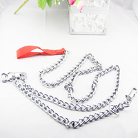 Stainless steel wholesale dog chain and chain link dog kennels