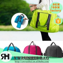 China Supplier 2015 new product waterproof duffel bag casual fashion business fold up travel bag
