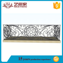 from usa wholesale low price modern indooriron grill design for veranda /luxury ornamental aluminum balcony balustrade