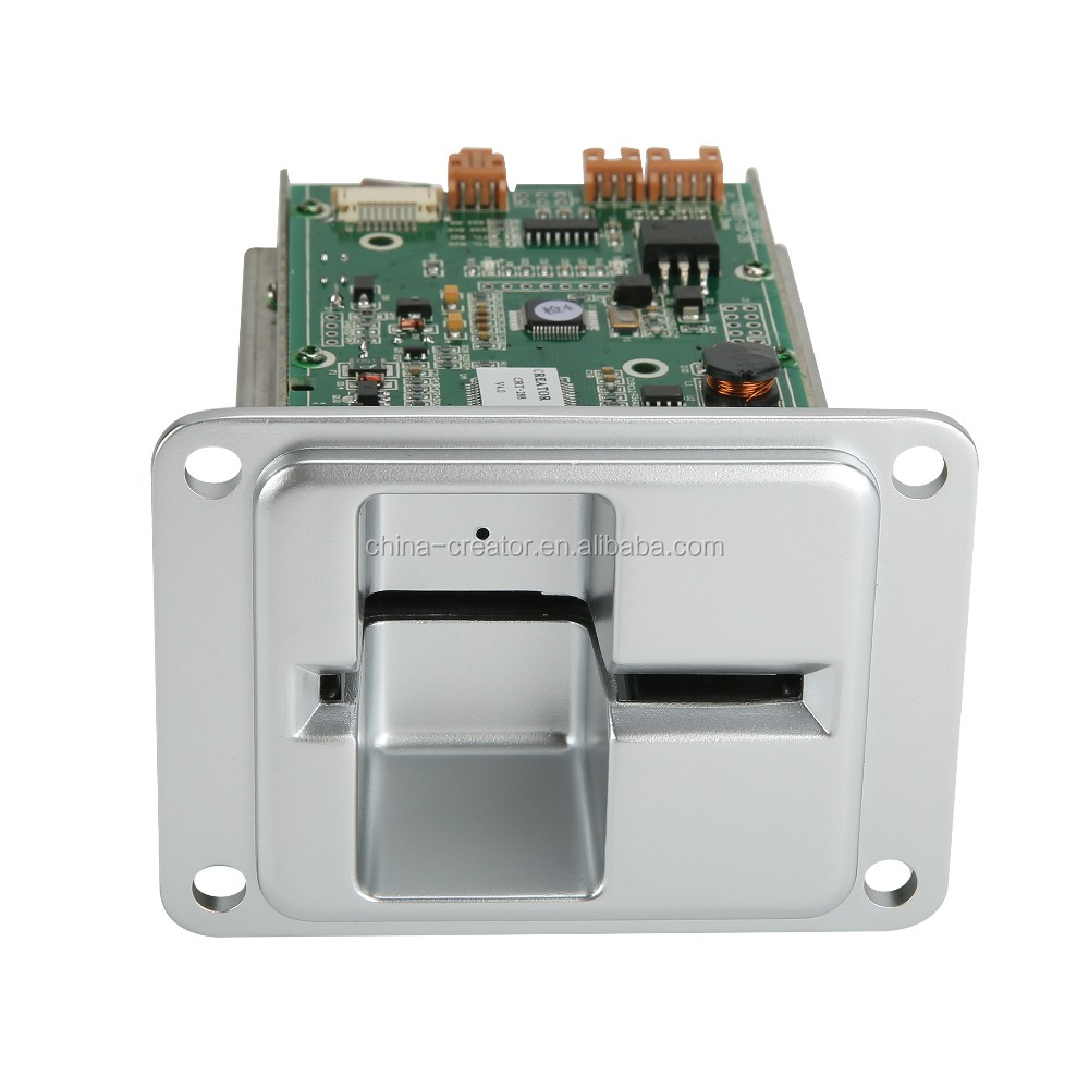 Metal and Plastic Bezel Option kiosk Dip Card Reader
