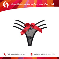 2016 hot !! big women g string black color t back diamond strap sexy underwear