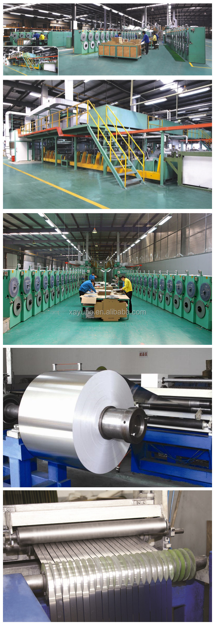 wholesale white coated aluminium coil strip for venetian blind