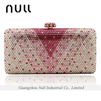 Luxury Rhinestone Women Hand Clutch Purse / Bag