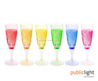 Decorative LED Lighting Champagne Flutes | Set of 6 from $3.75