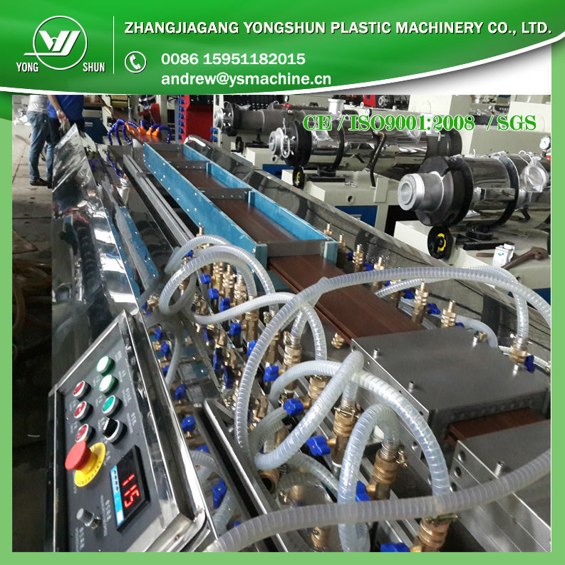 2016 New WPC Foam Board Extrusion Machine,Wood Plastic Composite Extrusion Machine For Building Material best price