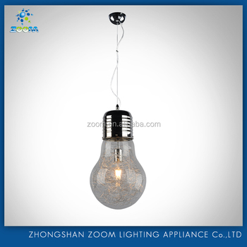 Best popular pendant lamp with bulb pendant hanging design