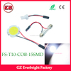 5W led dome Bulb LED Car COB Festoon t10 w5w 12V White Round Panel Reading led interior light