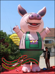 Advertising/event/exhibition/trade show giant inflatable replicas pig animals model