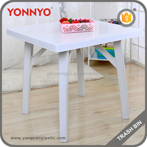 Wholesale High Quality Outdoor Dinner Plastic Square Table