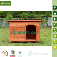 Large Wooden Animal House Dog Kennel Micro Pig House DFD025