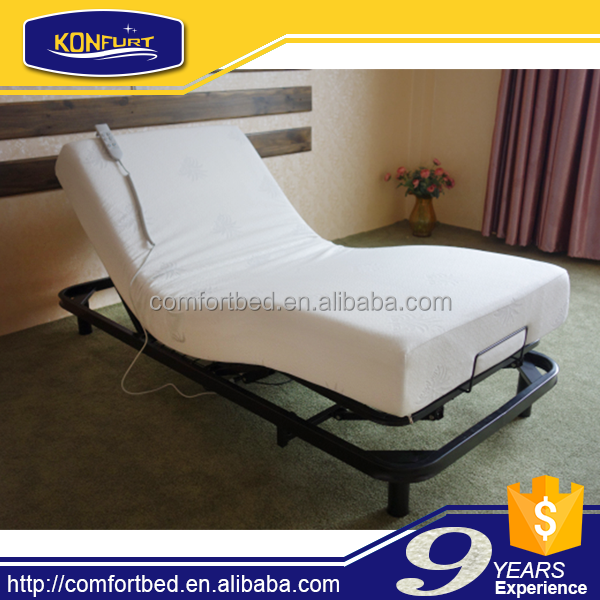Electric adjustable bed view bed konfurt product details for Adjustable bed motor replacement