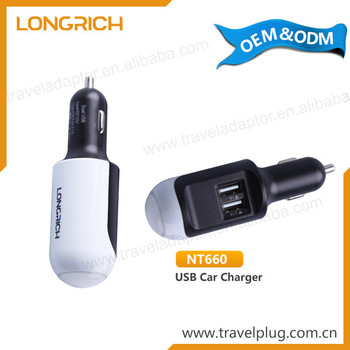 Attractive OEM 12v 220v usb universal car charger
