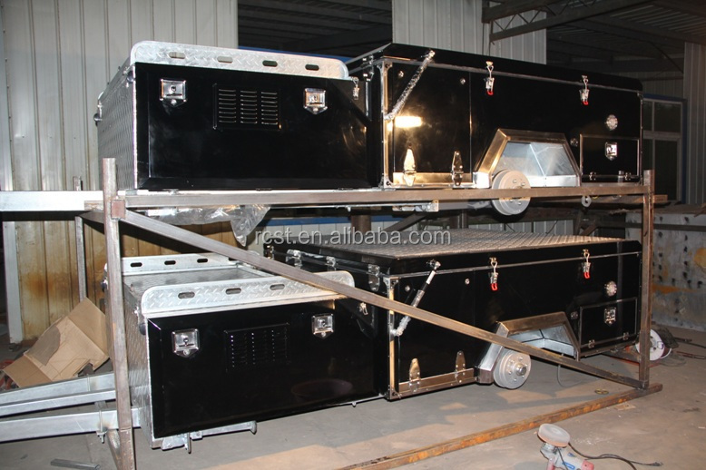 Forward folding camper trailer RC-CPT-01L
