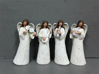 christmas ornaments angel figurine christmas gift