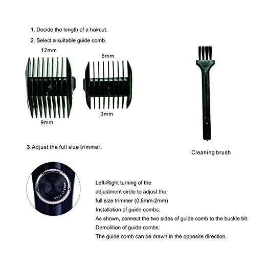 Wholesale Professional hair cutting machine hair clippers trimmer barber shop tools and equipment electric barber tools