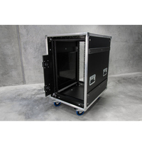 Fiasconite 16U SLAM AMP Rack ATA Flight Road Case
