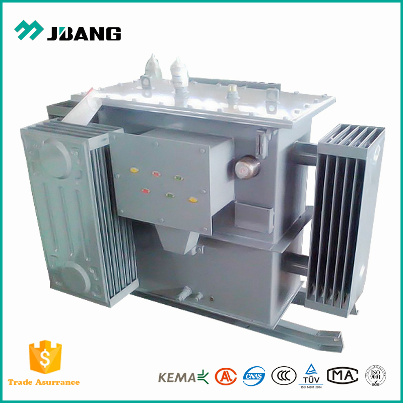 3.3kV/0.4kV 50kva high voltage power transformer with cable box