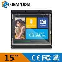 "new products15 inch touch screen monitor 15"" tft lcd monitor"