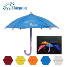 Customized Design Transparent Chinese Decorative PVC Umbrella for Rain