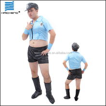 Halloween sexy uniform police costumes for men