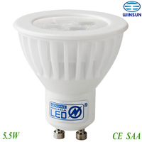 dimmable gu10 led spotlight nichia led,china manufacturer,CE ROHS SAA approved