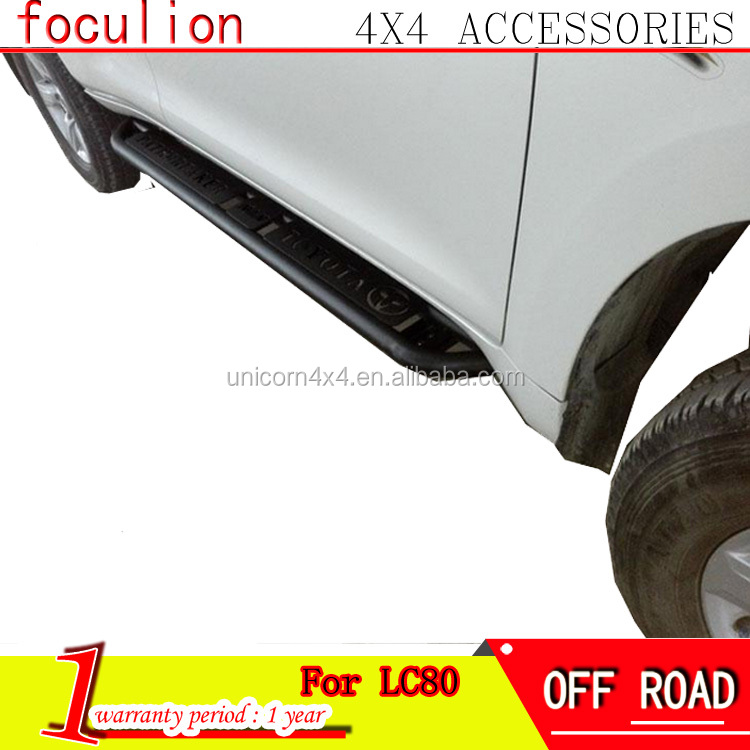 TOYOTAs 4X4 Accessory Steel Side bar Step Bar TOYOTAs 4X4 Parts