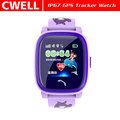 Wholesale 1.22'' Screen IP67 Waterproof GPS/LBS Dual Positioning Kids GPS Smart Watch TWATCH DF25G