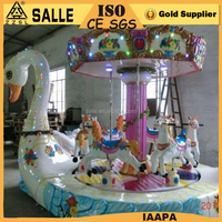 new design 6 seats carousel mini shopping mall carousel kids carousel for sale