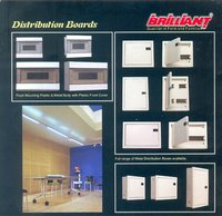 Distribution Boards Verticcal and Horizontal type with Double door