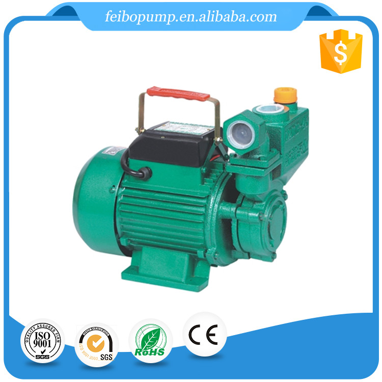 Zhejiang manufacturer price electric motor single phase domestic self sucking 0.5 hp small size centrifugal water pump