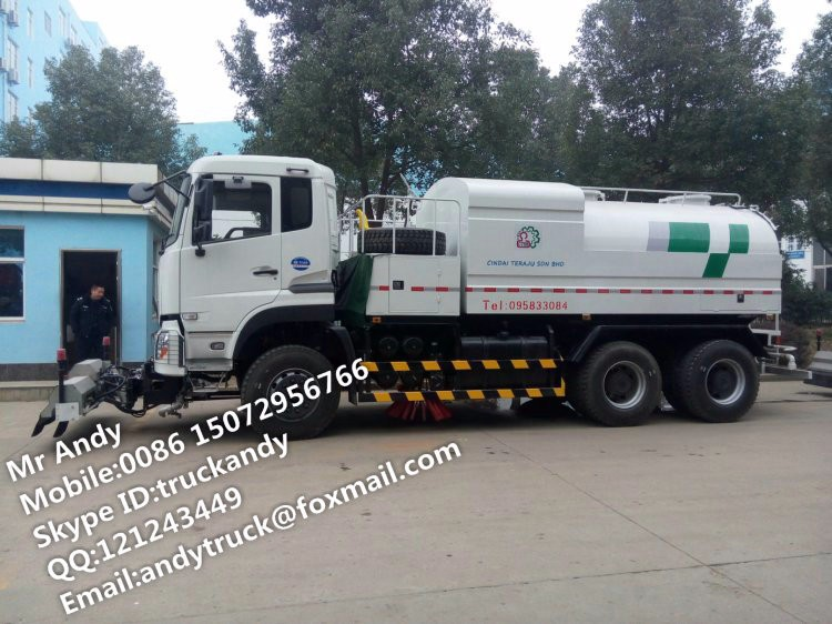 Dongfeng high pressure washing truck price